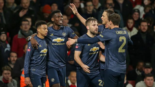 Manchester United Berhasil Lolos ke Babak 5 Piala FA