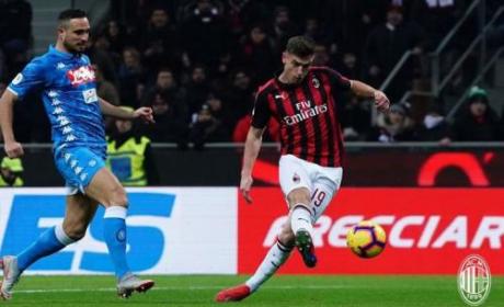 I Rossoneri Berhasil Lolos ke Semifinal Berkat Striker Baru, AC Milan vs Napoli
