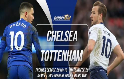Prediksi Pertandingan Chelsea vs Tottenham Kamis 28 Februari 2019