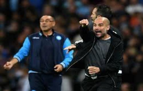 Sarri tidak menjabat tangan Guardiola seusai laga Man Cty vs Chelsea