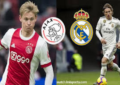 Laga Ajax Vs Real Madrid