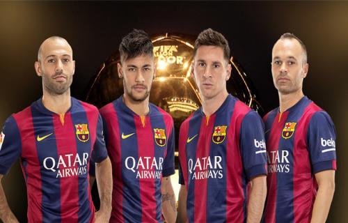 Pemain terbaik yang pernah di lihat Andres Iniesta yaitu Lionel Messi