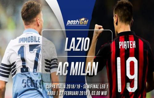 Prediksi Pertandingan Lazio vs AC Milan Rabu 27 Februari 2019