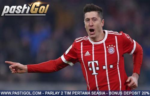 Lewandowski Geram pada Pelatihnya Karna Bayern Teringkir