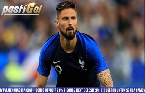 Rekor Gol Baru di Timnas Prancis Buatan Giround