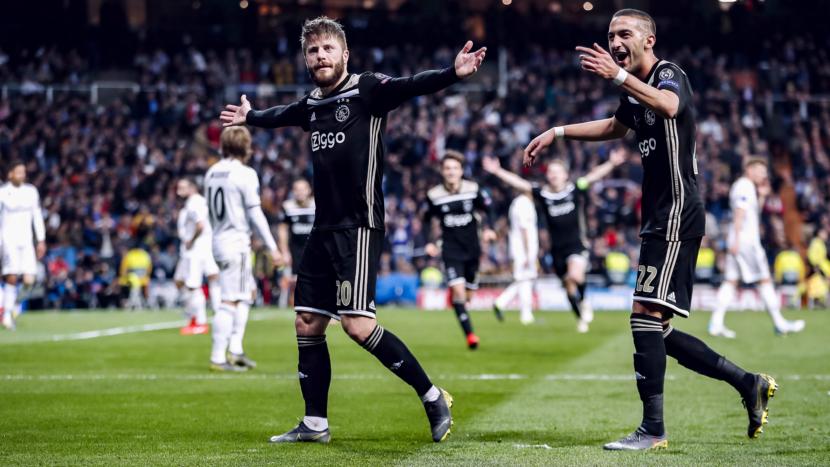 Prestasi terbaik Ajax adalah membantai Real Madrid