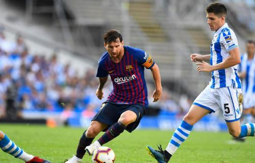 Skor Barcelona vs Real Sociedad 2-1