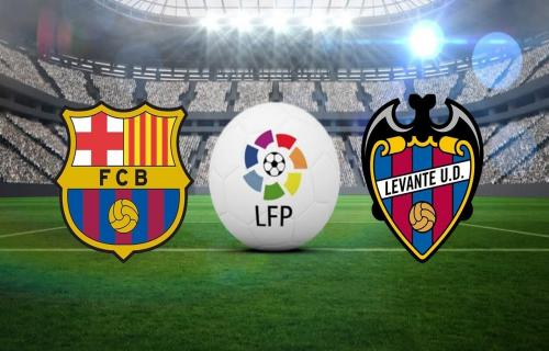 Barcelona VS Levante 28 April 2019