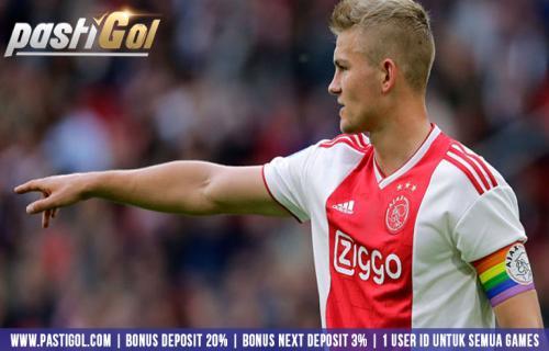 Matthijs de Ligt di Sepakati Pindah Ke Barcelona Oleh Ajax