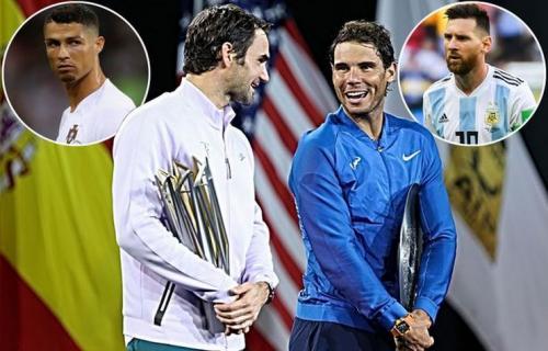 Menurut Chiellini bahwa Ronaldo dan Messi Seperti Rivalitas Nadal dan Federer