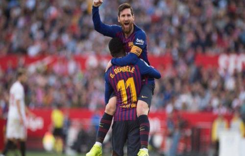 Barcelona melepaskan Ronaldinho dan Deco demi Melindungi Lionel Messi