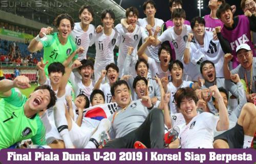 Final Piala Dunia U-20 2019   Korsel Siap Berpesta