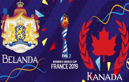Hasil Pertandingan Piala Dunia Wanita 2019: Belanda dan Kanada Melaju ke 16 Besar