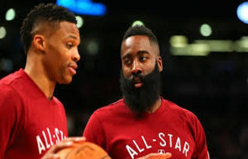 Harden yakin Westbrook bisa melengkapi satu sama lain