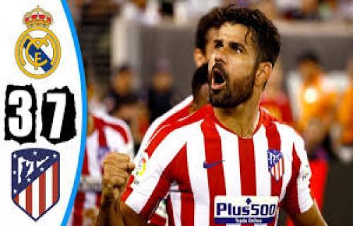 Real Madrid di hajar Atletico Madrid