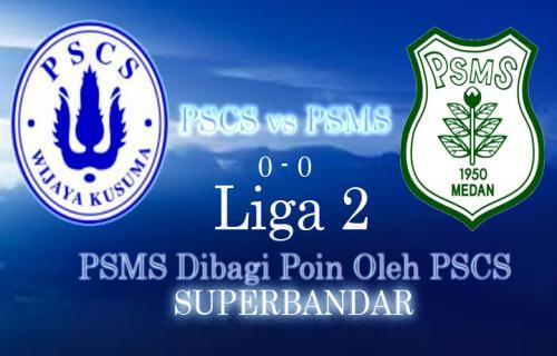 Liga 2 : PSMS Dibagi Poin Oleh PSCS