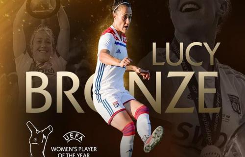 Bek Lyon Rebut Gelar Pemain Wanita Paling baik Eropa