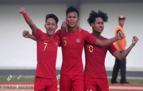 Tim nasional Indonesia U-19 Menang Atas Iran U-19 Melalui Gol Tunggal Sutan Zico