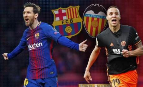 Hasil Laga Barcelona Vs Valencia 5-2