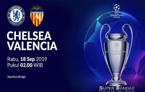 Pertandingan Langsung Liga Champions Antara Chelsea Vs Valencia