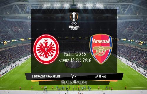 Perkiraan Laga Liga Europa Eintracht Frankfurt Vs Arsenal Agar Bisa Mendapatkan Kembali Kejaan Setiap Teamnya